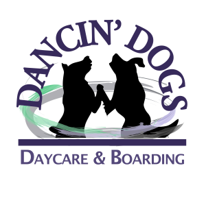 Dancin' Dogs Boarding, dog daycare and pet sitting logo